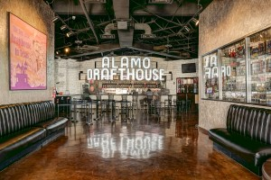 a commercial real estate photo of the Alamo Drafthouse in San Antonio, TX