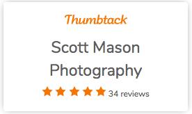 a small reviews widget on thumbtack