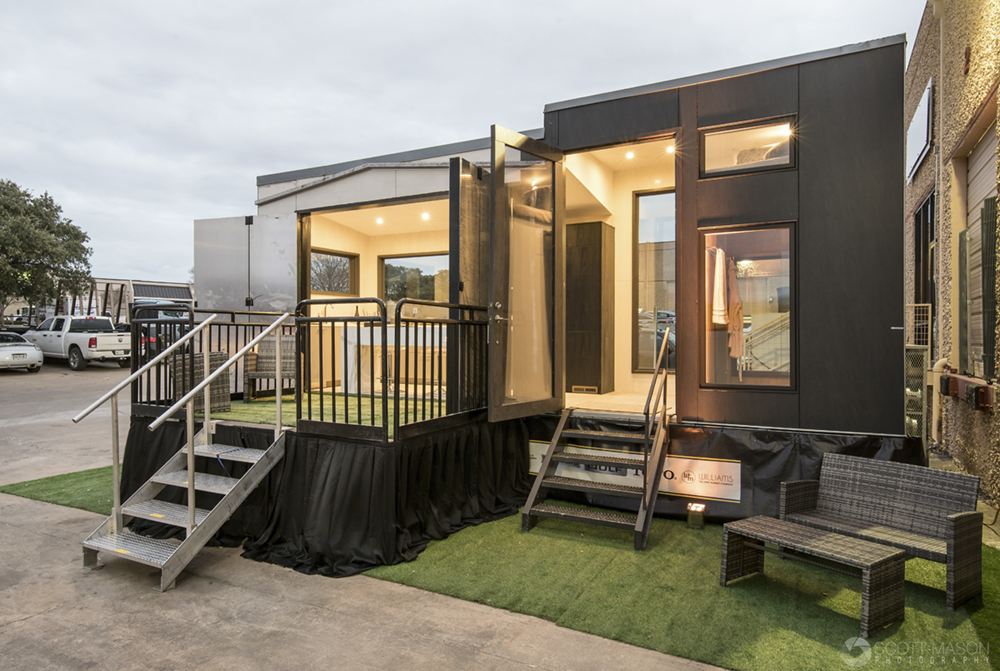 an exterior photo of the Neolith Tiny House