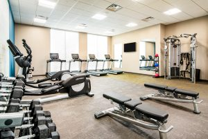 Gym photo of the Residence Inn Houston at NRG Park