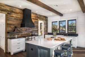 an interior design photography image of a kitchen taken in Austin, TX