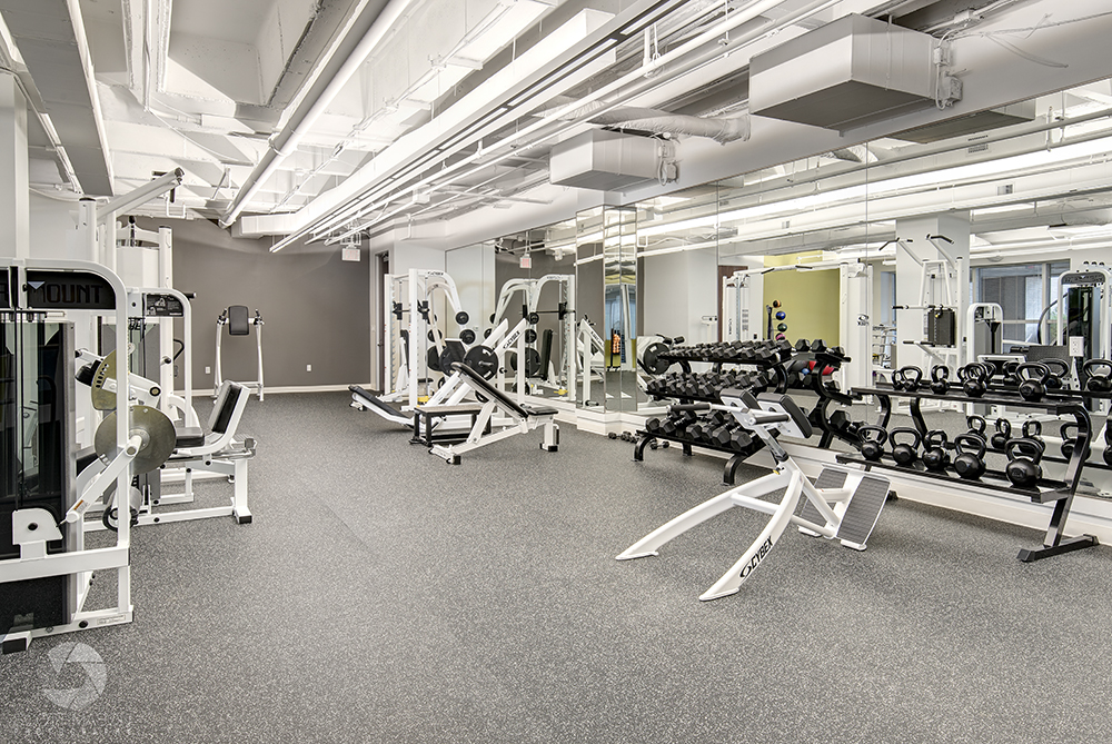 the new gym facility at UFCU plaza