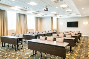 Conference room at the Residence Inn Houston at NRG Park